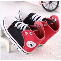 Prewalker Black Red All Star
