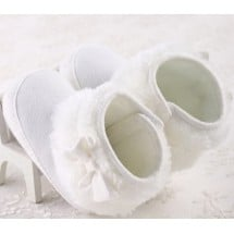 Prewalker White Booties
