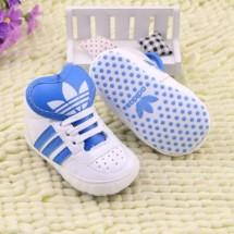 Prewalker Adidas Sporty White Blue