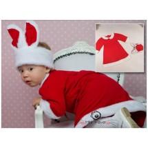 Rabbit Xmas Dress