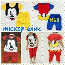 Setelan Mickey Wink
