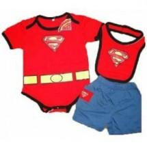 Romper 3in1 Superman