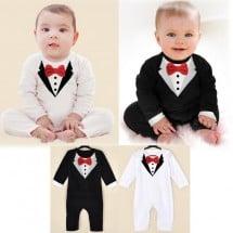 Tuxedo Modelling Romper