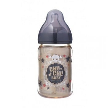 Chuchu Feeding Bottle PPSU Mama Cawa Boys 160ml
