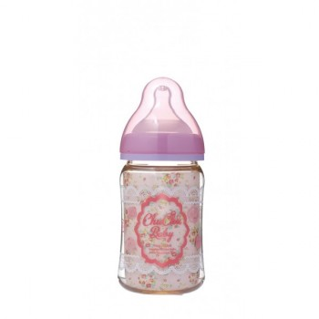 Chuchu Feeding Bottle PPSU Mama Cawa Girls 160ml