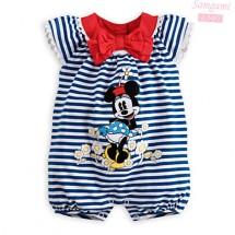 Minnie Stripes Romper