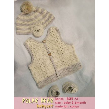 Polar Bear Baby Set