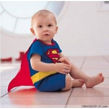 Flying Superman Romper