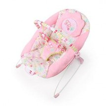Bright Starts Pretty Pink Flutter Dot Bouncer (Getar+Musik)