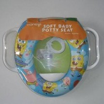 Potty Seat with handle SPONGEBOB