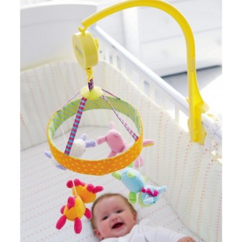 Musical Cot Mobile Blossom