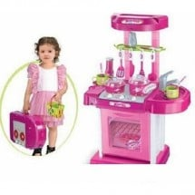 Kitchen Set Koper Pink