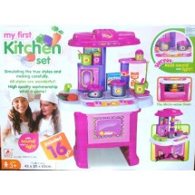 My First Kitchen Set Pink