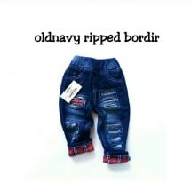 Old Navy Ripped Bordir