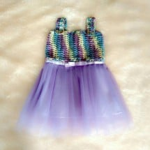 Baby tutu dress rajut handmade