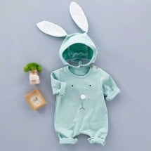 Bunny Romper With Hat